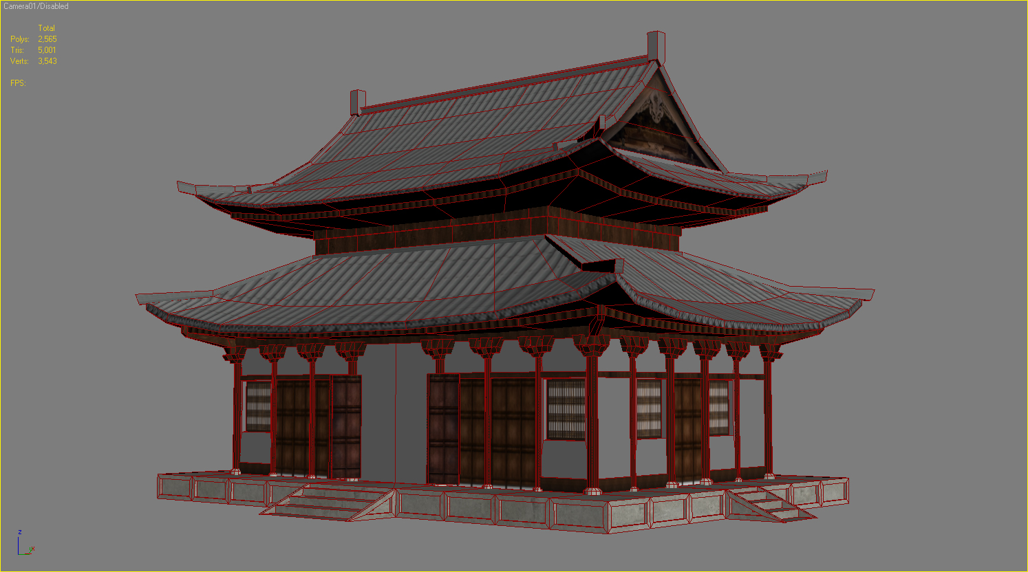 Game Of The Year >> Japanese Temple - Tofukuji Hondo - Ivan Ivanov
